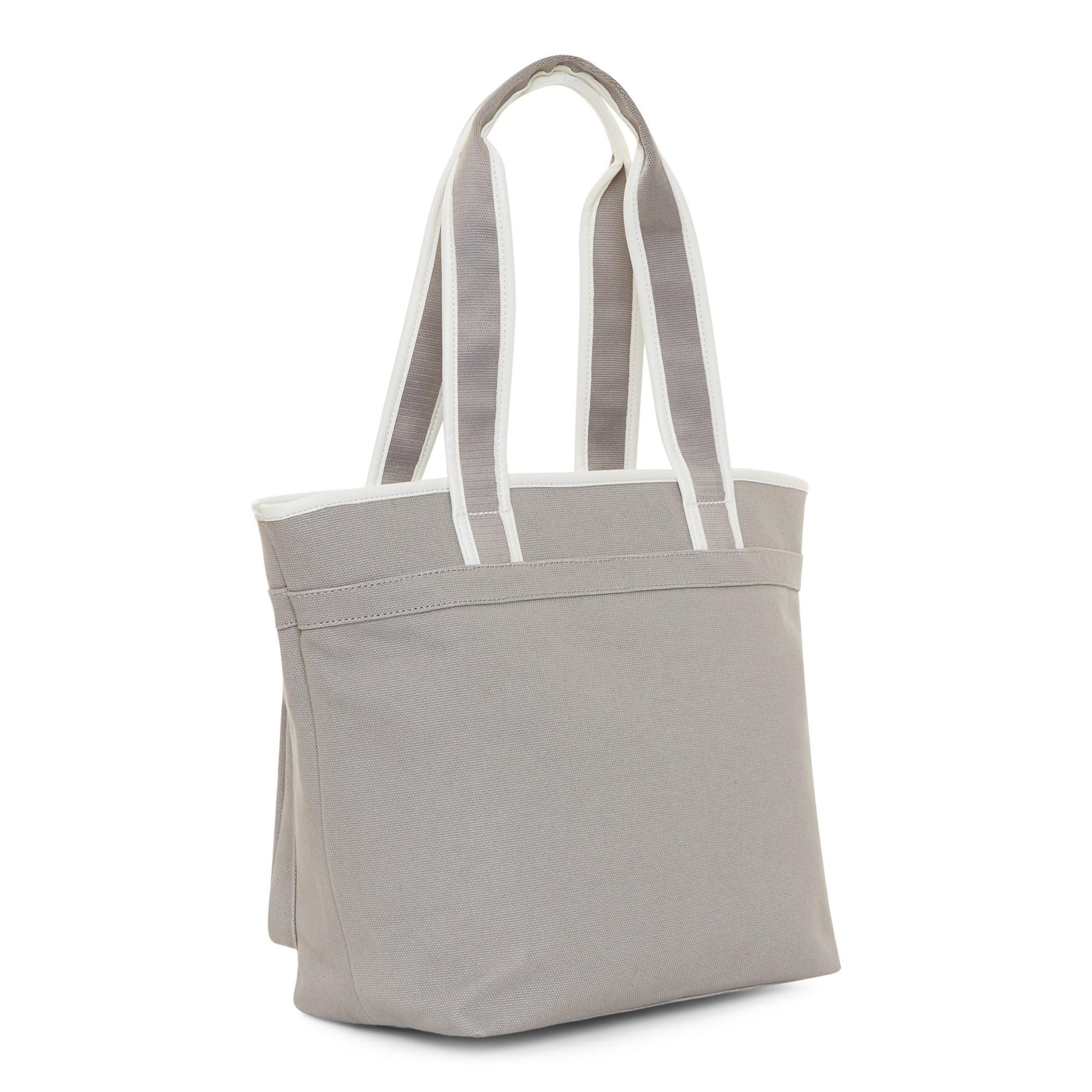 Neha Canvas Tote Bag - Slate Grey | Kipling
