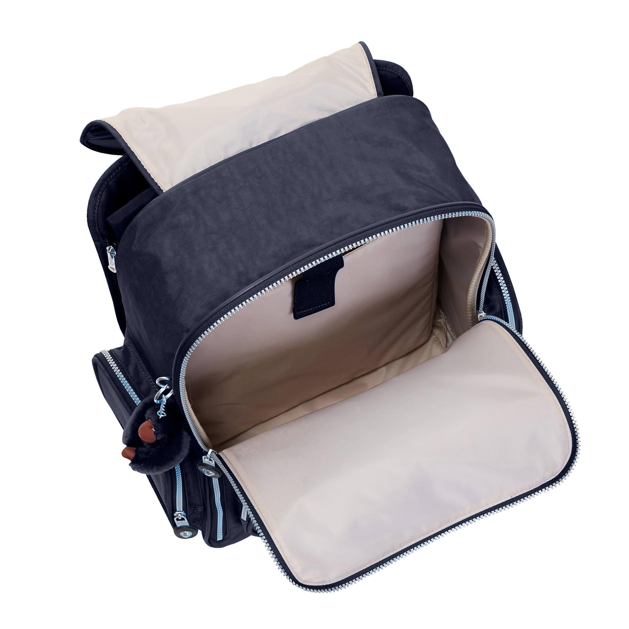 Kipling Alcatraz Ii Printed Rolling Laptop Backpack Ebay
