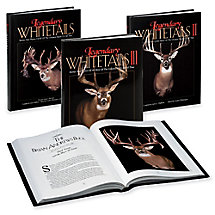 Legendary Whitetails Book Set I, II & III at Legendary Whitetails