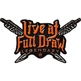Live at Full Draw Truck Window Decal