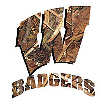 Collegiate Camo Truck Window Decals at Legendary Whitetails