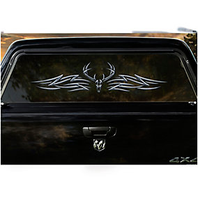 The Outlaw Large Rear Truck Window Decal
