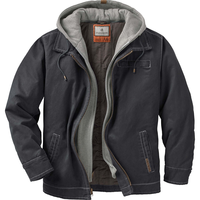 Legendary Whitetails Men's Rugged Full Zip Dakota Jacket ...