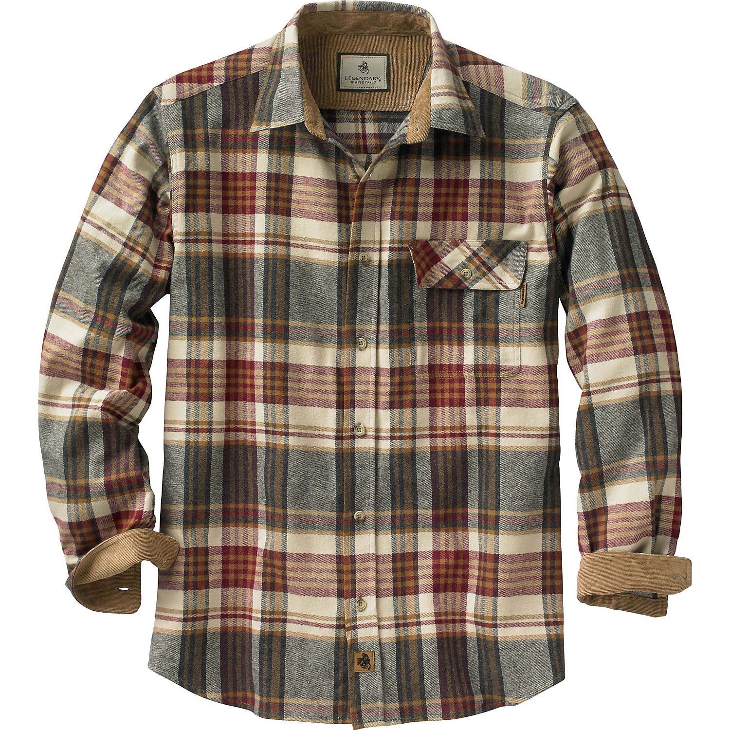 Mens Blue Flannel Shirt