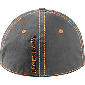 Hidden Point Gray Stretch Fit Cap