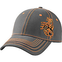 Hidden Point Gray Stretch Fit Cap at Legendary Whitetails