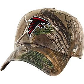 Atlanta Falcons Realtree Camo Clean Up Cap