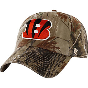 Cincinnati Bengals Realtree Camo Clean Up Cap