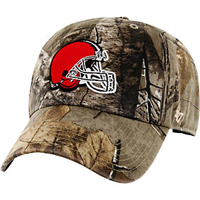 Cleveland Browns Realtree Camo Clean Up Cap