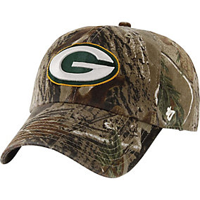 Green Bay Packers Realtree Camo Clean Up Cap