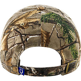 Indianapolis Colts Realtree Camo Clean Up Cap