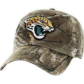 Jacksonville Jaguars Realtree Camo Clean Up Cap
