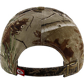 Kansas City Chiefs Realtree Camo Clean Up Cap