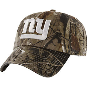 New York Giants Realtree Camo Clean Up Cap
