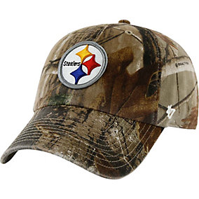 Pittsburgh Steelers Realtree Camo Clean Up Cap