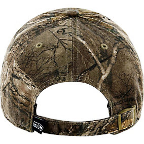 Seattle Seahawks Realtree Camo Clean Up Cap