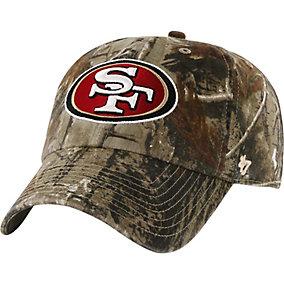 San Francisco 49ers Realtree Camo Clean Up Cap