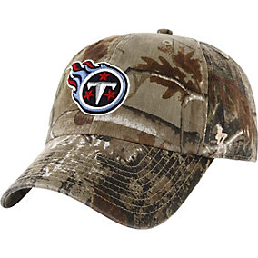 Tennessee Titans Realtree Camo Clean Up Cap