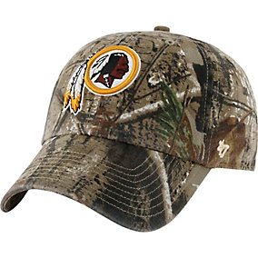 Washington Redskins Realtree Camo Clean Up Cap