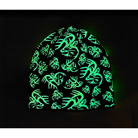 Boys Glow In The Dark Buck Beanie