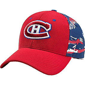Montreal Canadiens NHL Team Camo Cap