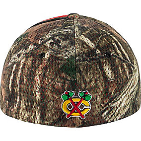 Chicago Blackhawks Mossy Oak Camo NHL Slash Cap