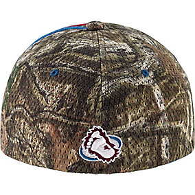 Colorado Avalanche Mossy Oak Camo NHL Slash Cap