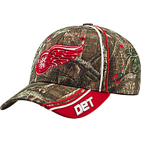 Detroit Red Wings Mossy Oak Camo NHL Slash Cap