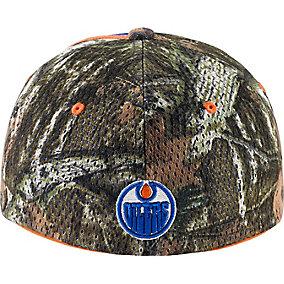 Edmonton Oilers Mossy Oak Camo NHL Slash Cap