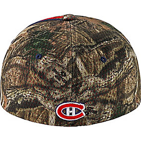 Montreal Canadiens Mossy Oak Camo NHL Slash Cap