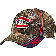 Montreal Canadiens Mossy Oak Camo NHL Slash Cap at Legendary Whitetails