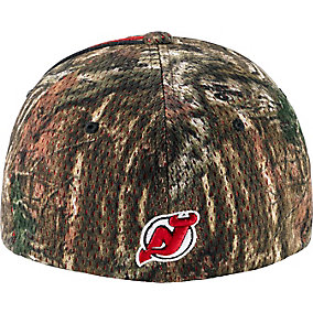 New Jersey Devils Mossy Oak Camo NHL Slash Cap