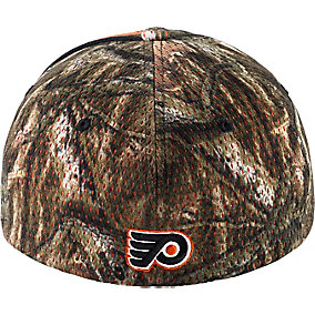 Philadelphia Flyers Mossy Oak Camo NHL Slash Cap