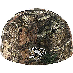 Pittsburgh Penguins Mossy Oak Camo NHL Slash Cap