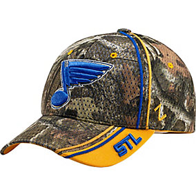 St. Louis Blues Mossy Oak Camo NHL Slash Cap