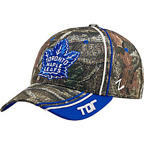 Toronto Maple Leafs Mossy Oak Camo NHL Slash Cap