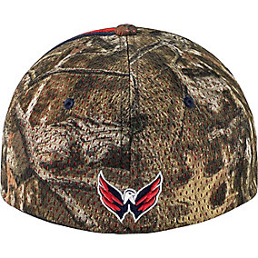 Washington Capitals Mossy Oak Camo NHL Slash Cap