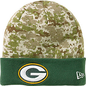 Green Bay Packers NFL Camo Knit Hat