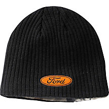 Ford & Chevy 4X4 Reversible Camo Knit Beanie at Legendary Whitetails