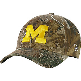 Michigan Wolverines Realtree Collegiate Cap