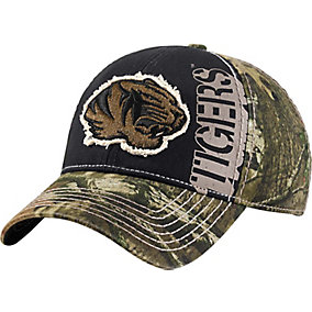 Mossy Oak Captain Collegiate Camo Cap