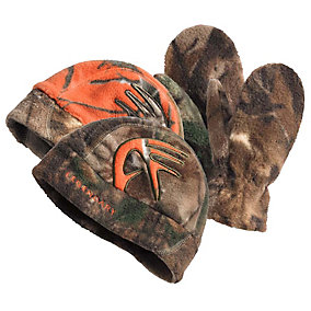 Youth Reversible Shed Cap & Mitten Set