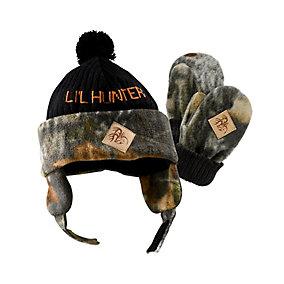 Toddler Lil Hunter Camo Hat & Glove Set