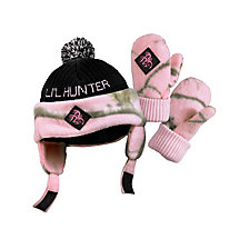 Toddler Lil Hunter Camo Hat & Glove Set at Legendary Whitetails