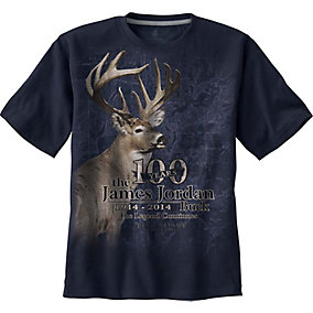 James Jordan 100th Anniversary Blue T-Shirt