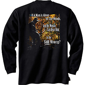 Laws of Nature Long Sleeve Hunters T-Shirt