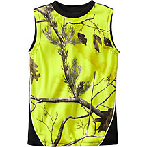 Boys Field Treker Jr. Sleeveless Performance Tee at Legendary Whitetails