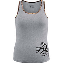 Ladies Non-Typical Ribbed Tank Top at Legendary Whitetails