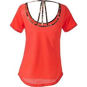 Ladies Sunburst Activewear Short Sleeve Top