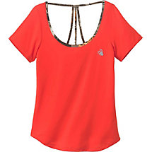 Ladies Sunburst Activewear Short Sleeve Top at Legendary Whitetails